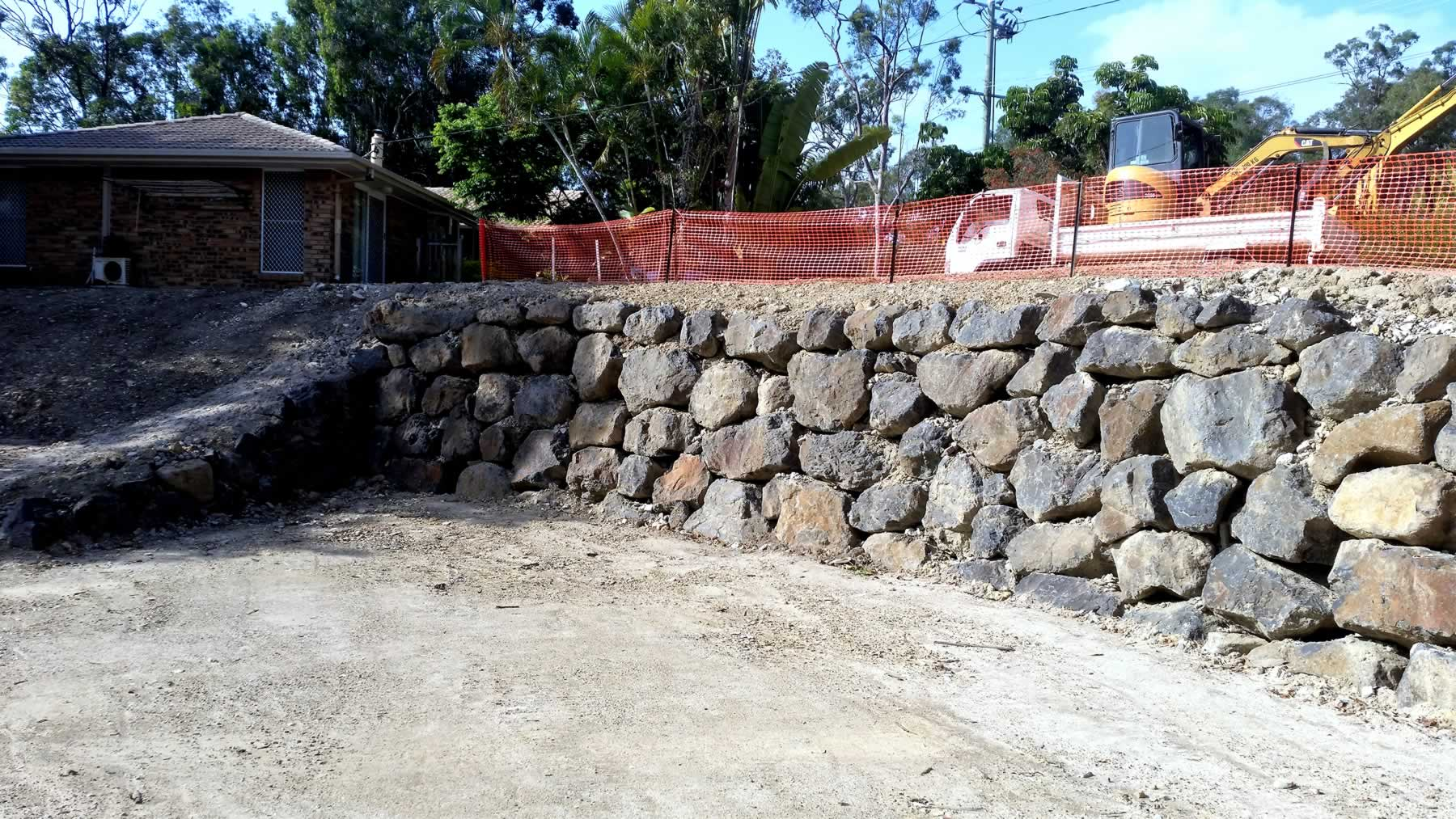 bush rock landscaping gold coast