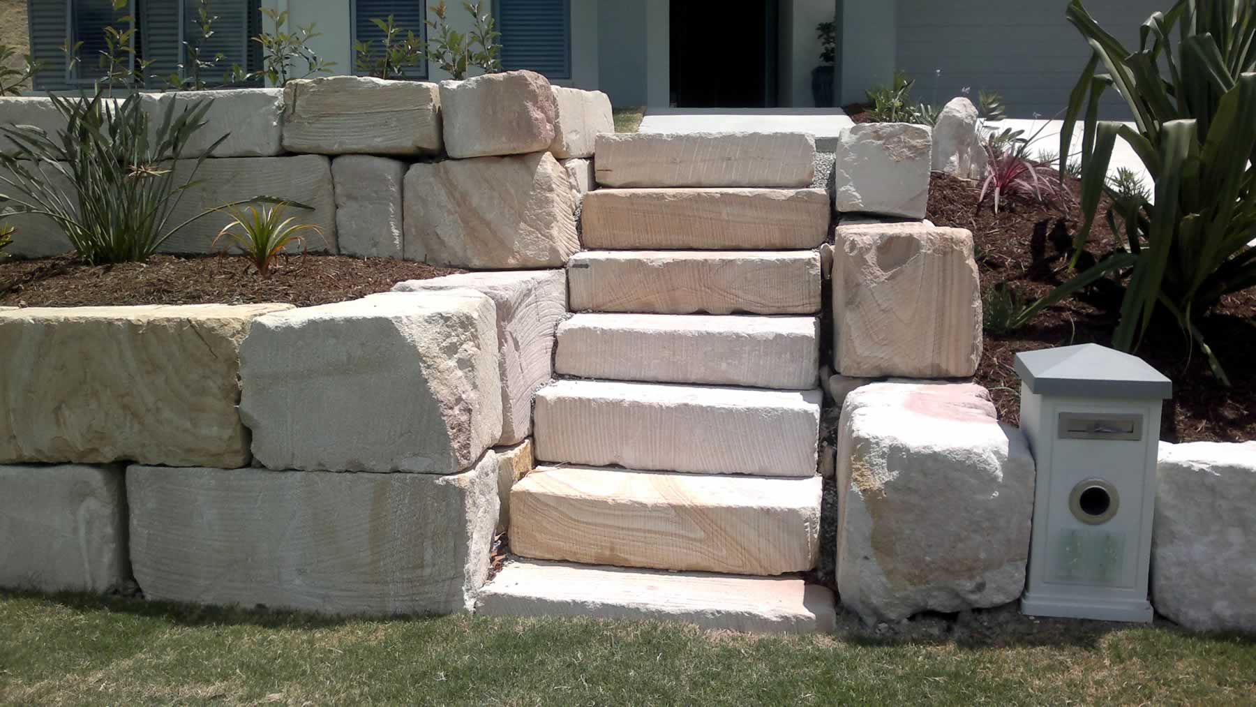 Stone steps and stair builders gold coast